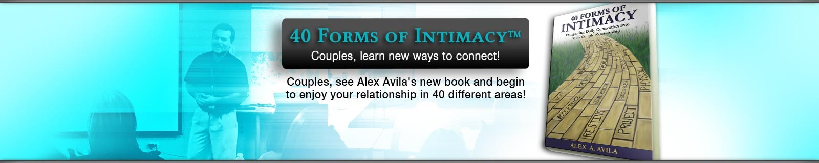 40 Forms of Intimacy® Book & Couple Retreats